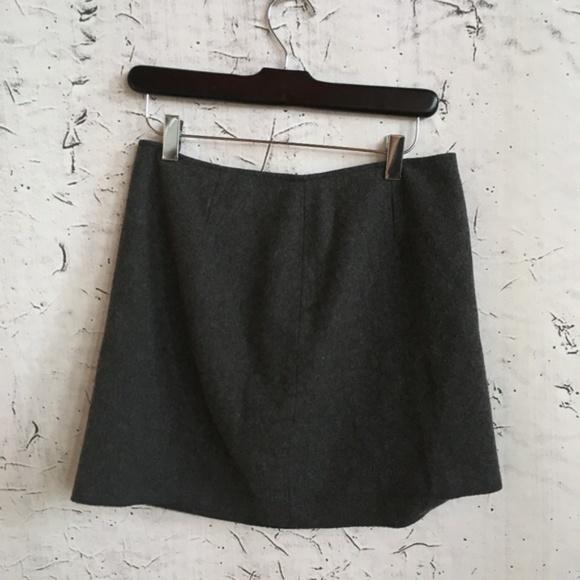 Express Dresses & Skirts - EXPRESS WOOL GREY MINI SKIRT 7/8